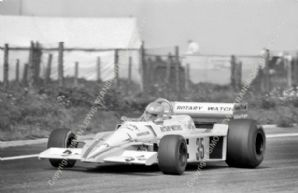 BRM P207 Conny Anderson  Swedish GP 1977
